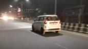 Toyota Wagonr Maruti Xl5 Spied Rear