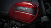2021 Triumph Speed Twin Fuel Tank Closeup