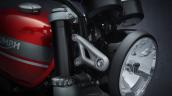 2021 Triumph Speed Twin Headlamp Closeup