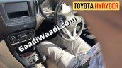 Inside View Of Toyota Hyrder Ev