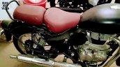 New Royal Enfield Classic 350 Spy Shot Right Quart