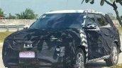 Hyundai Creta Facelift Front Quarter Spied
