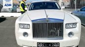 Rolls Royce Phantom Confiscated White Front