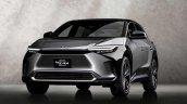 Toyota Bz4x Bev Concept Front