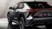 Toyota Bz4x Bev Concept Rear
