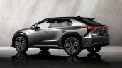 Toyota Bz4x Bev Concept Rear Three Quarters