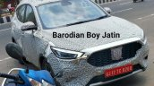 Mg Astor Mg Zs Petrol Spy Shot Front Right