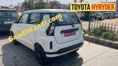 Toyota Hyryder Wagon R Electric Rear Three Quarter