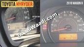 Toyota Hyryder Wagon R Instrument Console Images 1