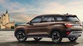Hyundai Alcazar Official Image Rear Three Quarters