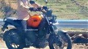 Yamaha Fz X Spy Shot Orange
