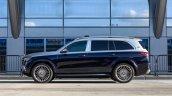 Mercedes Maybach Gls 600 Blue Side