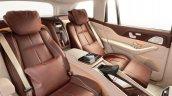 Mercedes Maybach Gls 600 Interior Rear Seats
