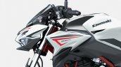 2022 Kawasaki Z650 Red Closeup