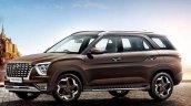 Front Side Look Of Hyundai Alcazar