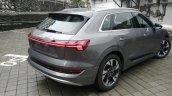 Audi E Tron Grey Rear Three Quarters