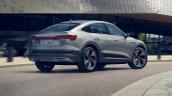 Audi E Tron Sportback Rear Three Quarters