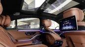 2021 Mercedes Benz S Class Rear Seats