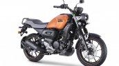 Yamaha Fz X Matt Copper Front Right