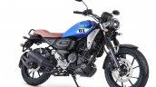 Yamaha Fz X Metallic Blue Front Right