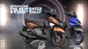 New Yamaha Ray Zr Hybrid Colours
