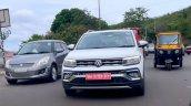 Volkswagen Taigun Spied Front