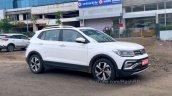 Volkswagen Taigun Spied Side Profile