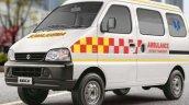 Front Side Look Of Maruti Eeco Ambulance