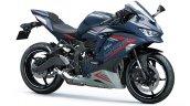 Kawasaki Ninja Zx 25r Blue Gray Front Right