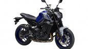 2021 Yamaha Mt 09 Blue Front Right