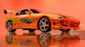 Front Side Look Of Toyota Supra