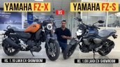 Yamaha Fz X Front Side Look