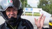 Italian Motorcycle Journalist Valerio Boni
