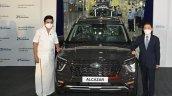 Hyundai Alcazar 10 Millionth Car