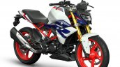 New Bmw G 310 R Blue Metallic Front Right