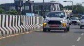 Ford Ecosport Facelift Spy Shot Led Drls