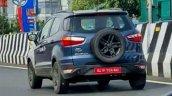 Ford Ecosport Facelift Spy Shot Rear Left