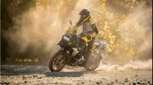 2021 Bmw R 1250 Gs Drifting In Dirt
