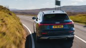 Audi E Tron 55 Action Rear Mountains