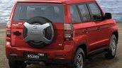 Mahindra Bolero Neo Rear View Red