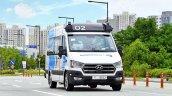 Hyundai Roboshuttle Autonomous Taxi Street