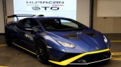 Lamborghini Huracan Sto Front Right India Launch