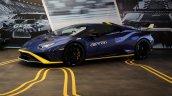 Lamborghini Huracan Sto Left Side India Launch