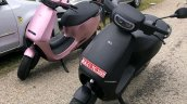 Ola Electric Scooter Spy Shot Black Pink Colour
