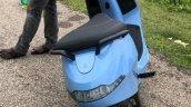Ola Electric Scooter Spy Shot Blue Rear