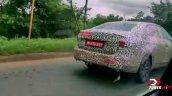 Volkswagen Vitrus Spy Shot Rear Right