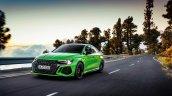 Audi Rs 3 Sedan Green Front Left Action