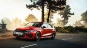Audi Rs 3 Sportback Red Curve Sunset
