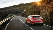 Audi Rs 3 Sportback Red Rear Left Sunset