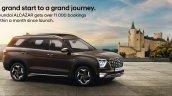 Hyundai Alcazar Booking Milestone